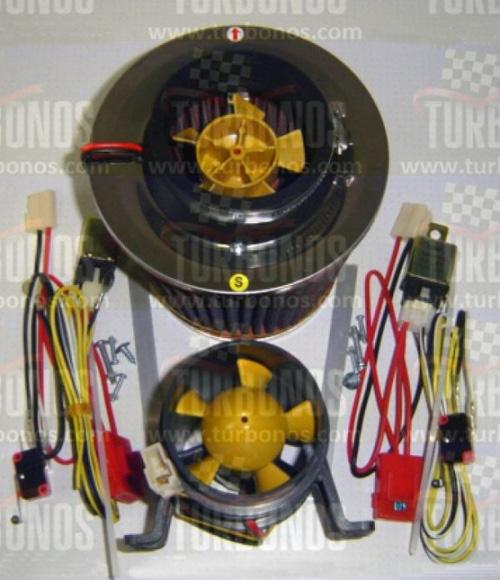 توربو شارژ برقی دو موتوره(کارکرده) - J.C شاپ